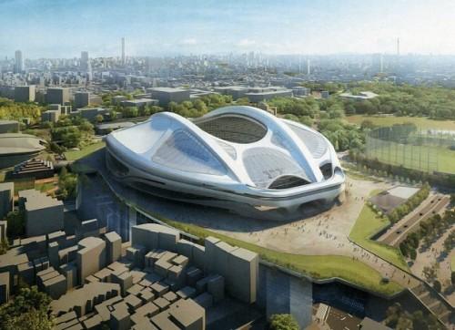 新国立競技場のザハ・ハディド氏のデザインが白紙に