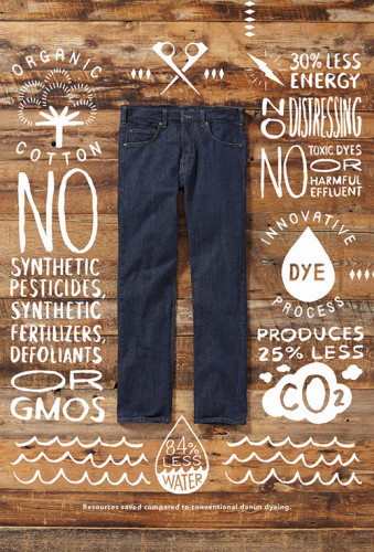 Patagonia Denim 100% Organic Cotton Jeans