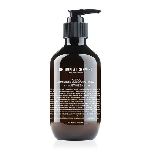 Grown Alchemist Shampoo Damask Rose Black Pepper & Sage 300ml
