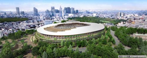 新国立競技場のデザインが隈研吾に決定