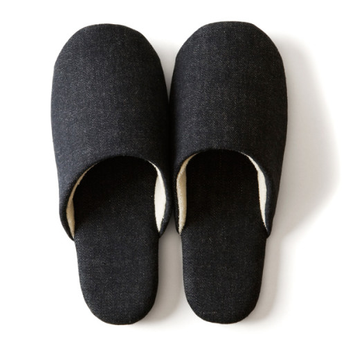 Fiber Art Studio Denim Slippers