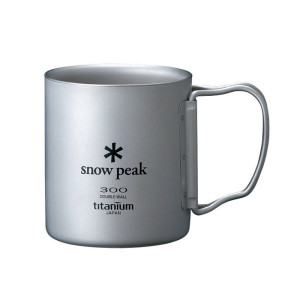 Snow Peak Titanium Double Wall 300 Mug