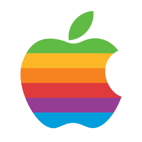 Apple Computer Rainbow Logo