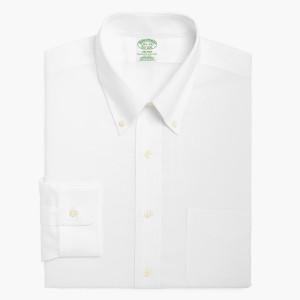 Brooks Brothers Non-Iron Brookscool ライトウェイトオックスフォード ポロカラーシャツ Extra-Slim Fit