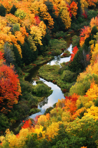 Porcupine Mountains Wilderness State Park, Ontonagon, Michigan