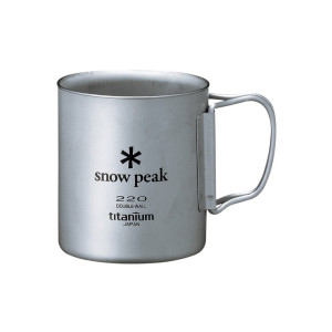 Snow Peak Titanium Double Wall 220 Mug