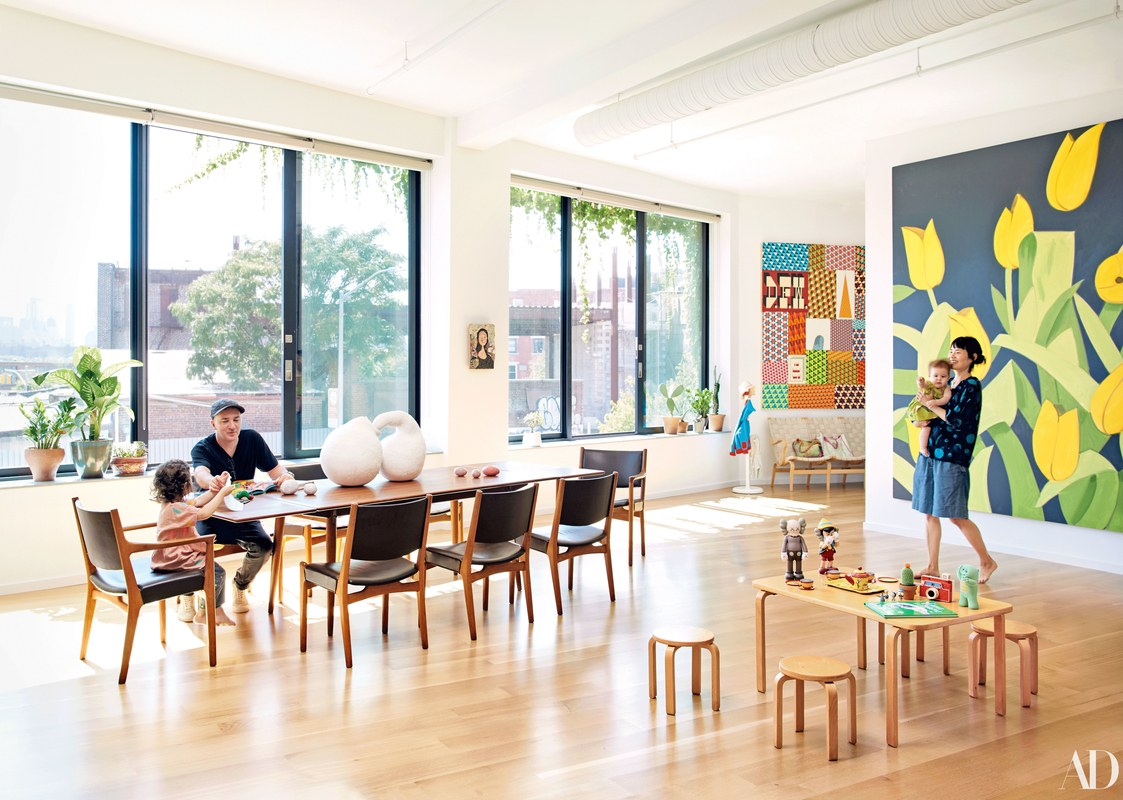 Inside the Art-Filled Home of KAWS