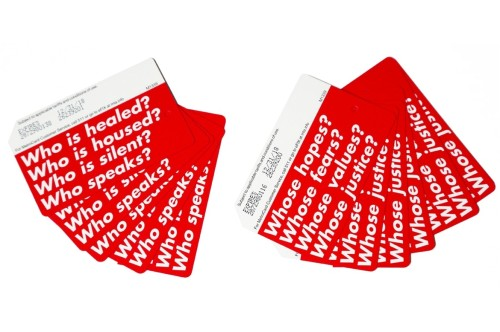 Limited-edition MetroCards designed by Barbara Kruger