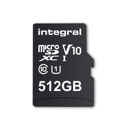 Integral Memory 512GB microSDXC