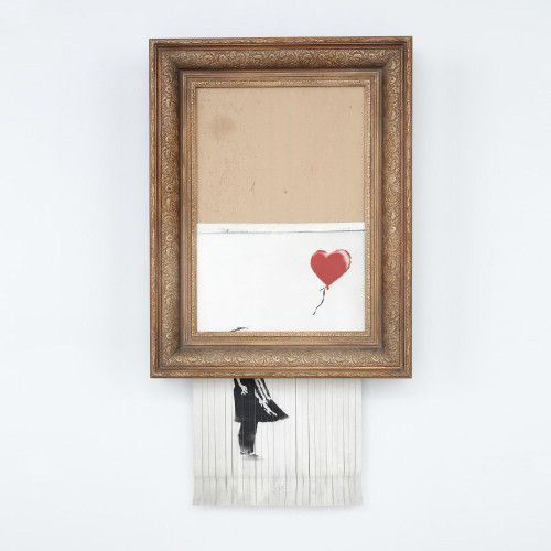 Banksy - Love is in the Bin