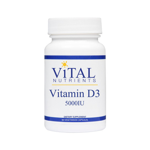 Vital Nutrients Vitamin D3 5000IU