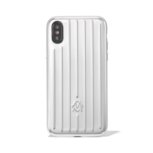 Rimowa Aluminium Groove Case for iPhone XS