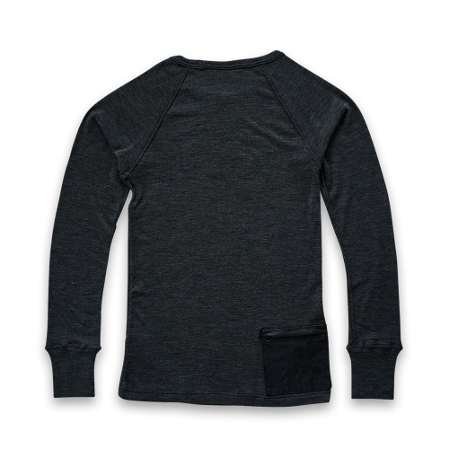 NEXTRAVELER TOOLS Black Pocket with Merino Wool Long Sleeve
