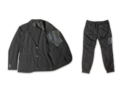NEXTRAVELER TOOLS Black Pocket with Travel Jacket Pants