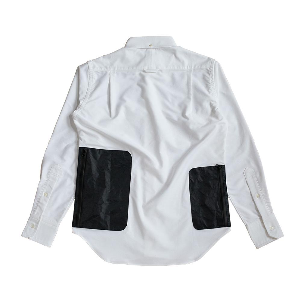 NEXTRAVELER TOOLS Double Black Pocket Small & Large with Non-Iron Travel Shirt