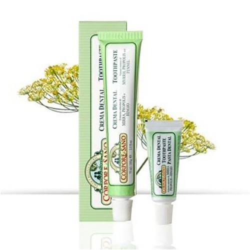 Corpore Sano Crema Dental Toothpaste Pasta Dental