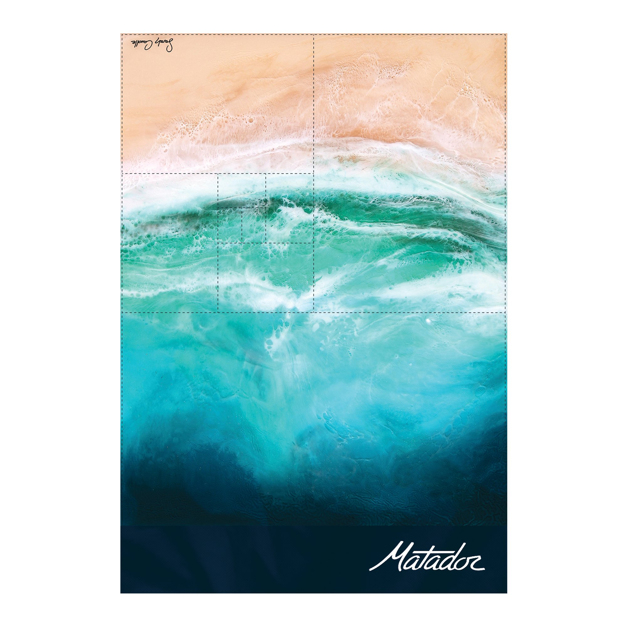 Matador Ocean Pocket Blanket
