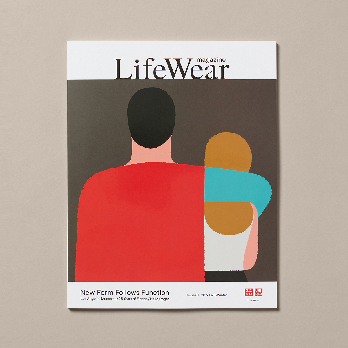 UNIQLO LifeWear magazine Issue 01