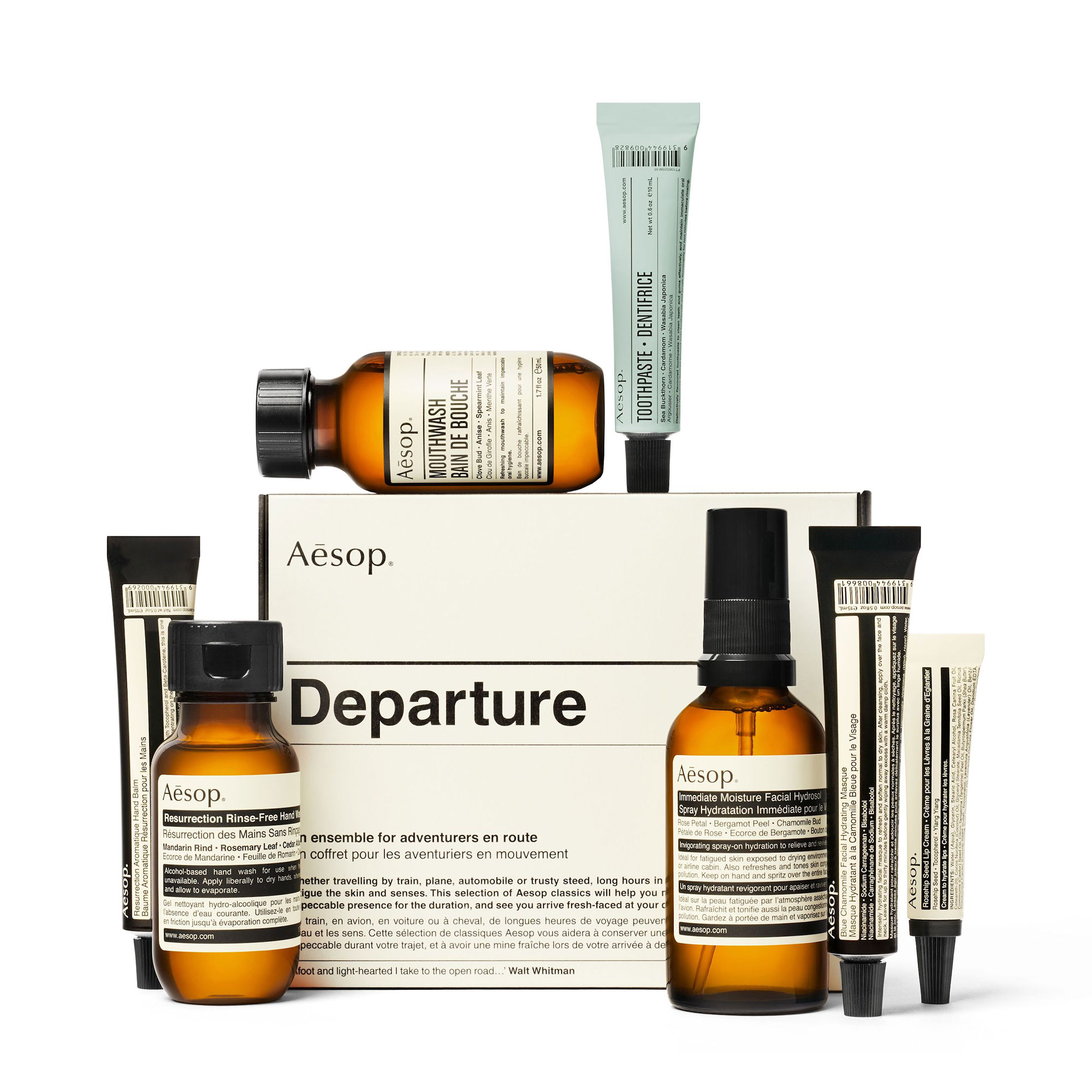 Aesop Departure Kit